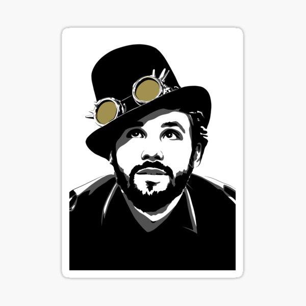 The Hatter Art Sticker