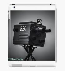 Retro bbc camera  iPad Case/Skin
