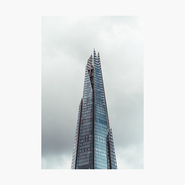 Top of the Shard Photographic Print