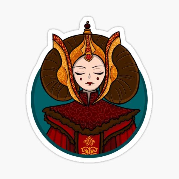 """""""The Queen"""" Sticker Sticker"""