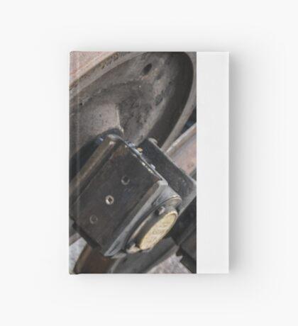 Them Wheels Ain't Turning Hardcover Journal