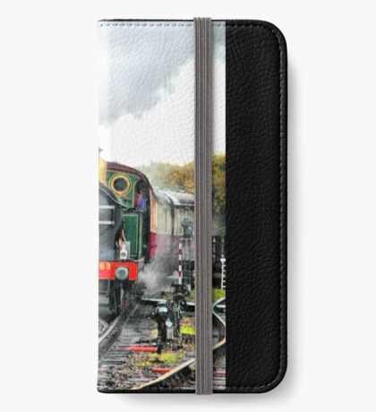 Engine 263 steaming iPhone Wallet