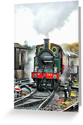 Engine 263 steaming by bywhacky