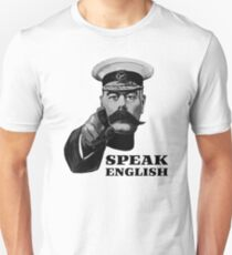 Lord Kitchener Speak English Unisex T-Shirt