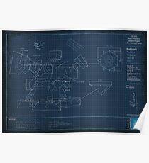 Heimerdinger's Turret Blueprints Poster