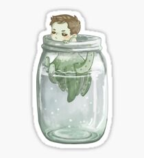 Out of the Jar Sticker