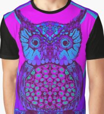Midnight Owl Graphic T-Shirt
