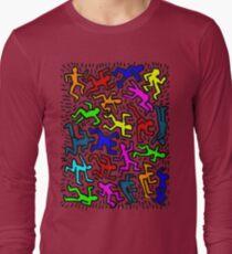 wall collour keith haring T-Shirt