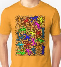 wall collour keith haring T-Shirt
