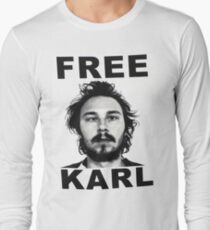 Free Karl - Workaholics Long Sleeve T-Shirt