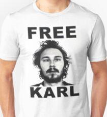 Free Karl - Workaholics T-Shirt