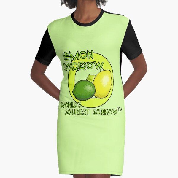 Lemon Sorrow Graphic T-Shirt Dress