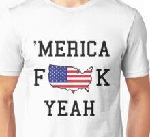 america fuck yeah logo Unisex T-Shirt