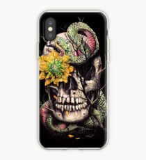 Snake and Skull iPhone Case
