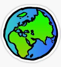 world globe Sticker