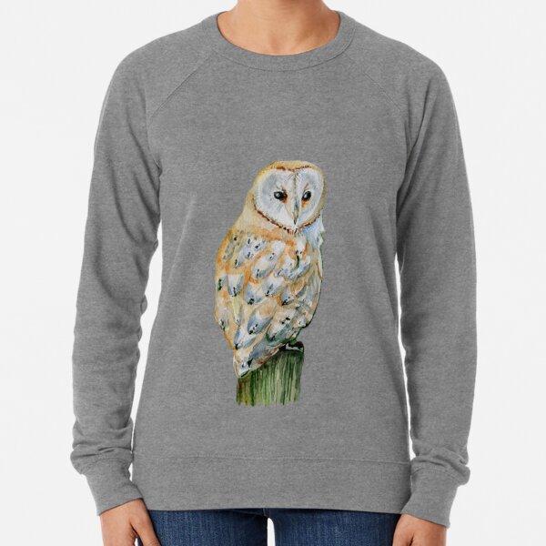 Barn owl Lightweight Sweatshirt