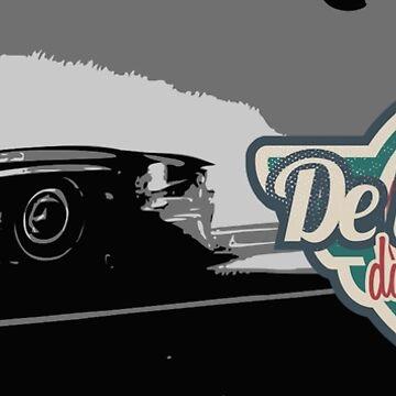 «Logo vintage DLEDMV» par DLEDMV