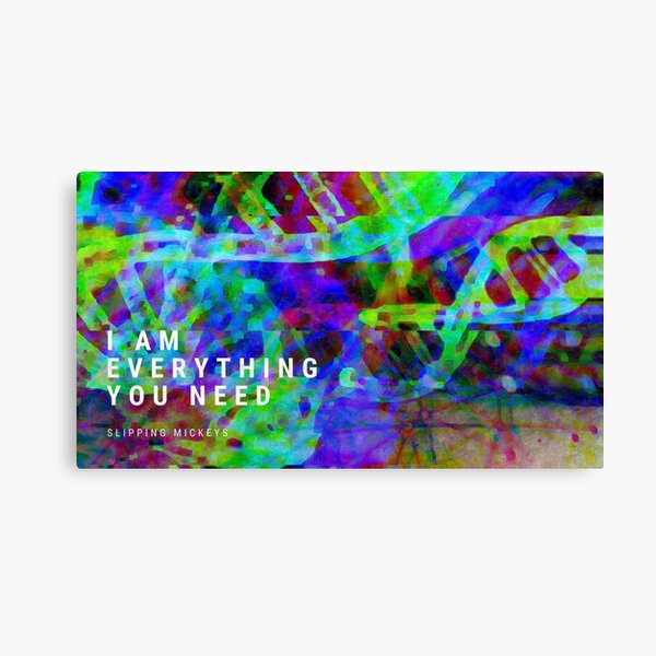 I Am Everything You Need Canvas Print