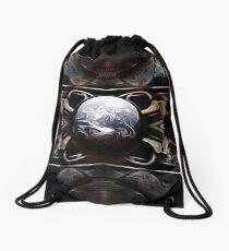 Global Triggers Drawstring Bag
