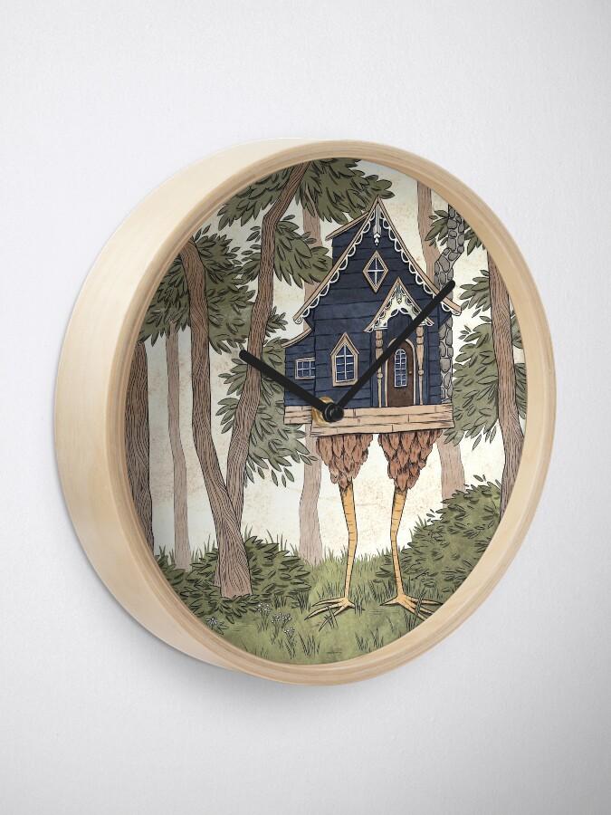 Alternate view of Baba Yaga's House Clock