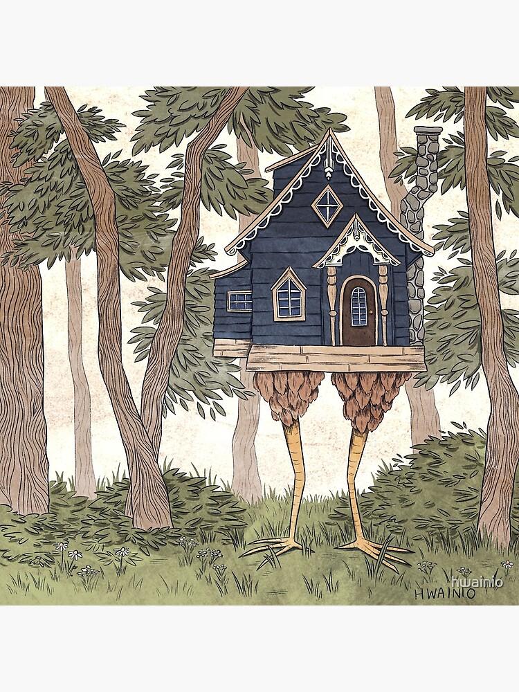 Baba Yaga's House by hwainio