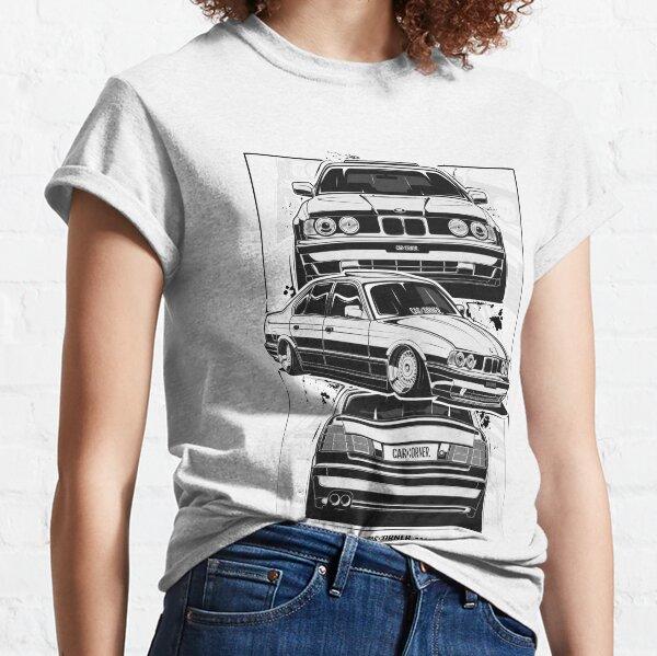 Germany EUDM - E34 M5 - CarCorner Classic T-Shirt
