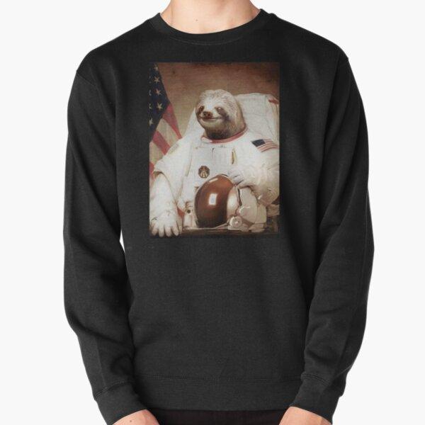 Raumfahrer Faultier Astronaut Pullover