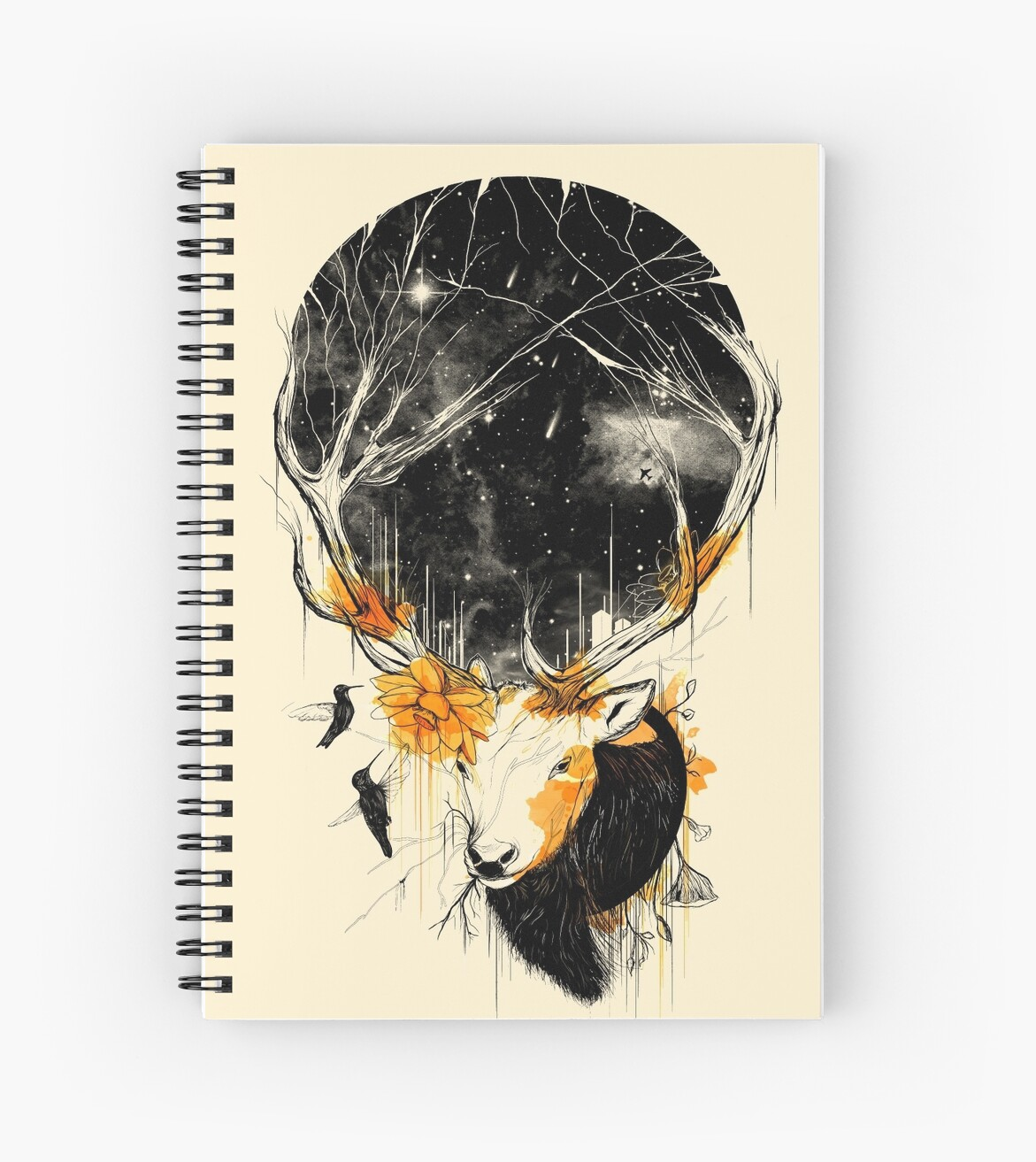 Quot Once Upon A Time Quot Spiral Notebooks By Nicebleed Redbubble