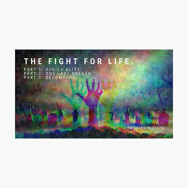 The Fight for Life Photographic Print