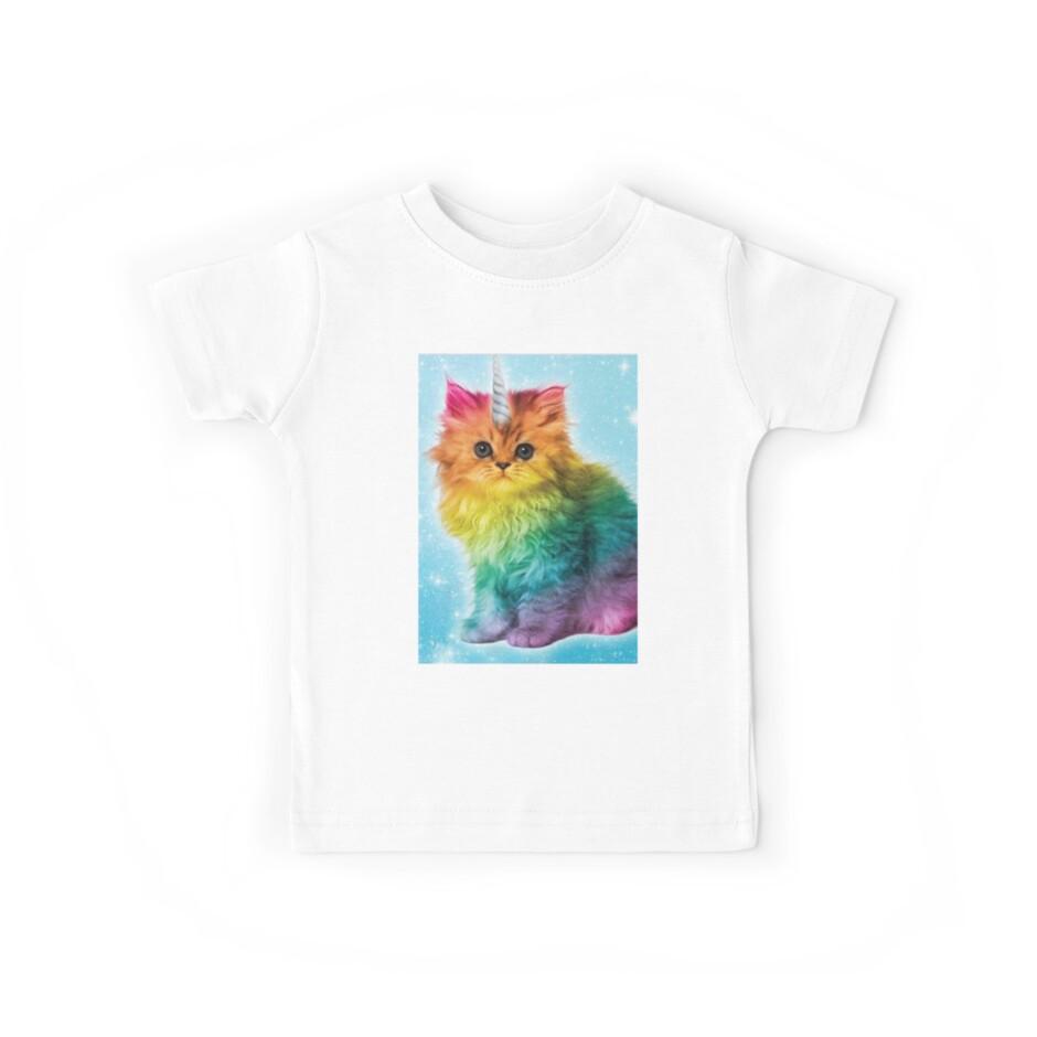 Unicorn Rainbow Cat Kitten by Abdilah007