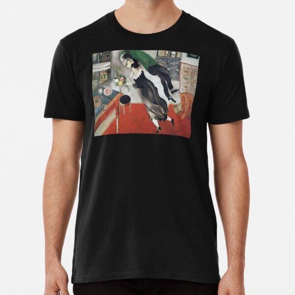 The Birthday (1915) by Marc Chagall Premium T-Shirt