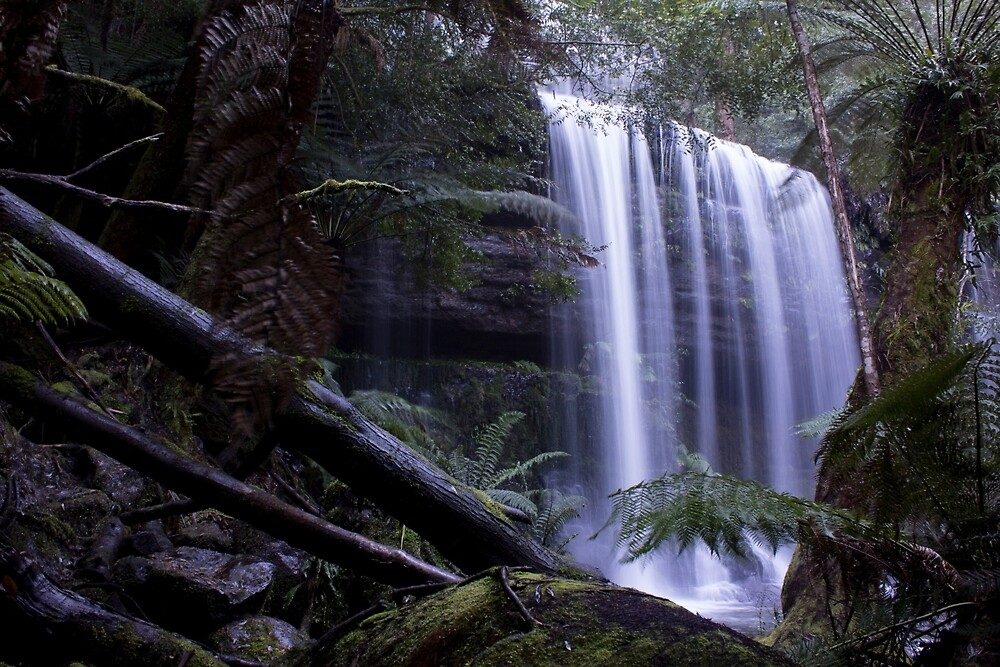 Russell Falls Tasmania by pwherrett
