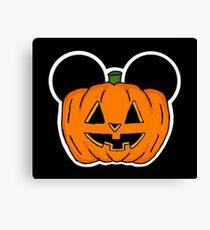 Halloween Ears Canvas Print