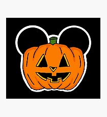 Halloween Ears Photographic Print