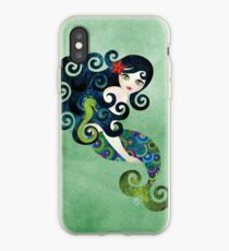 Aquamarine Mermaid iPhone Case
