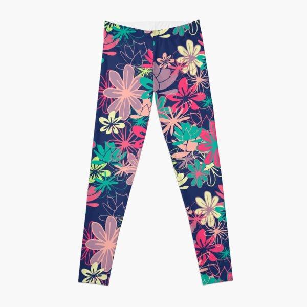 Colorful Garden Leggings