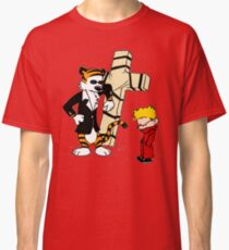 Calvin And Hobbes : Detective Classic T-Shirt