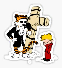 Calvin And Hobbes : Detective Sticker