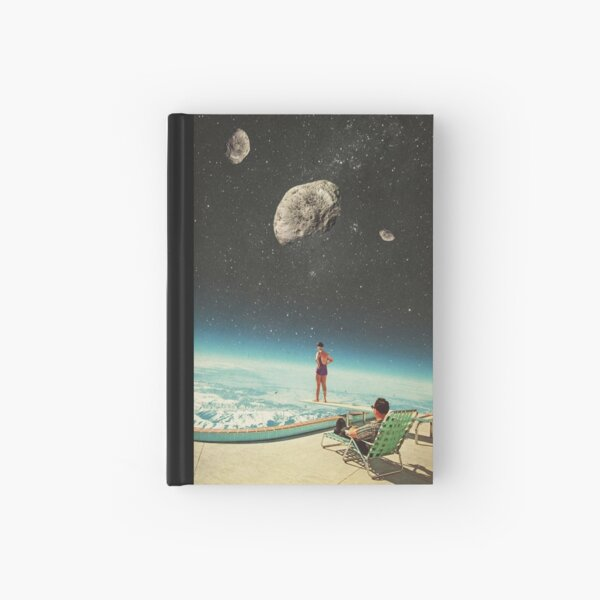 Summer with a Chance of Asteroids Hardcover Journal