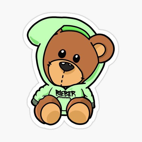 Bieber Bear  Sticker