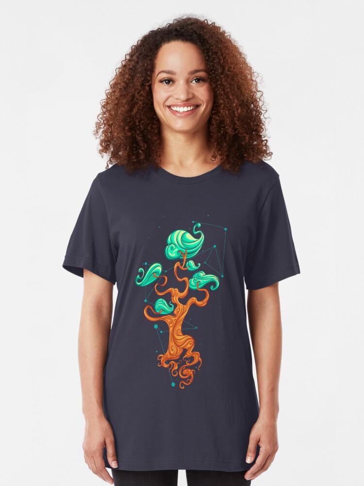 Alternate view of Magical Tree Slim Fit T-Shirt