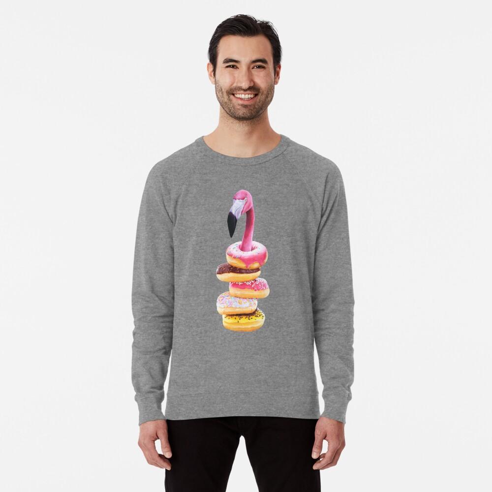 Ein ausgehungerter Flamingo Leichter Pullover