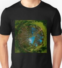 Stereographic view from Lachlan Swamp Unisex T-Shirt