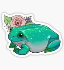 Lovely Frog Sticker