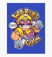 WARIO'S GYM Photographic Print