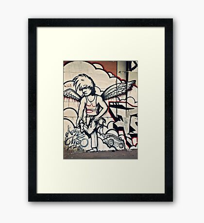 Angel of Music Framed Print