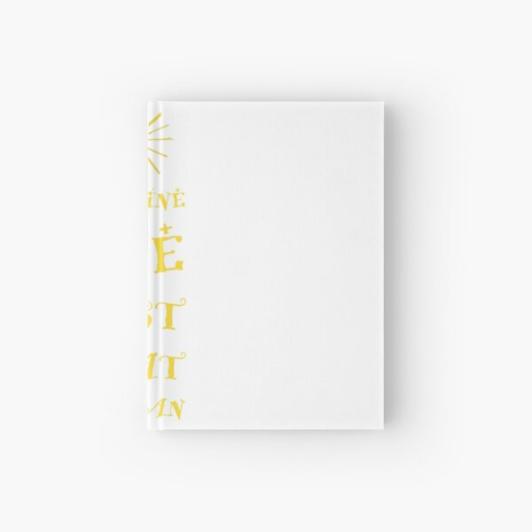 Imagine The Best Hardcover Journal