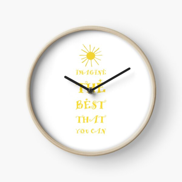 Imagine The Best Clock