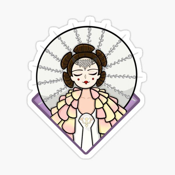 """""""The Angel"""" Sticker Sticker"""