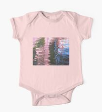 Nature's Water Abstract One Piece - Short Sleeve